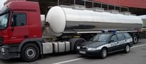 7 cystern z nielegalnym paliwem. Akcja Izby Celnej