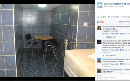 Muszla klozetowa w kuchni, kafle na wszystkich ścianach. Oto jak mieszkają Polacy